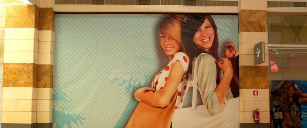 Stampa digitale per centro commerciale Gran Sasso
